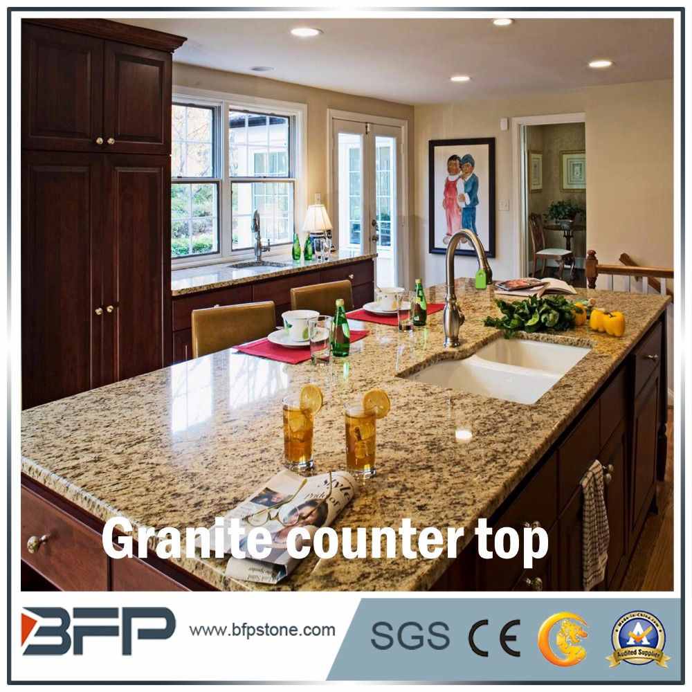 Wholesale Low price natural stone kitchen granite counter top