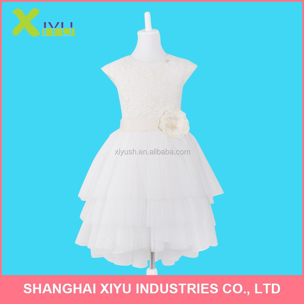 modern-styled Various Sizes 1-6 years old baby party girl dress