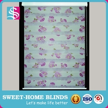 Factory Supplier 100% polyester zebra window blinds Of New Structure