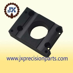 Canadian high quality custom black fixed axis precision aluminum plate
