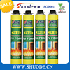 750ML FireProof spray polyurethane pu foam filler