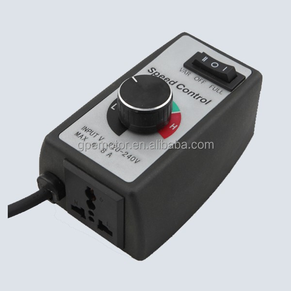 Electric 110v 220v AC 12v 24v DC 12 Volt 36v 48v 180v Brushless BLDC Motor PWM Electronic Exhaust Fan Speed Controller