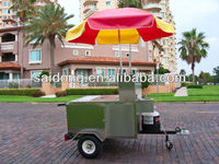 2013 New Style Food Kiosk Mobile food vans for Sale CE