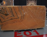 Orange color natural marble Mexico onyx slab price