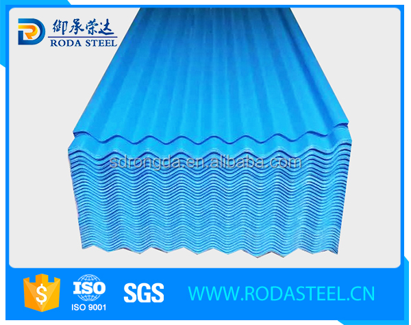 JIS G3312 prepainted galvanized corrugated sheet with low price
