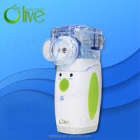 battery operated portable asthma inhaler/nebulizer with CE certificate