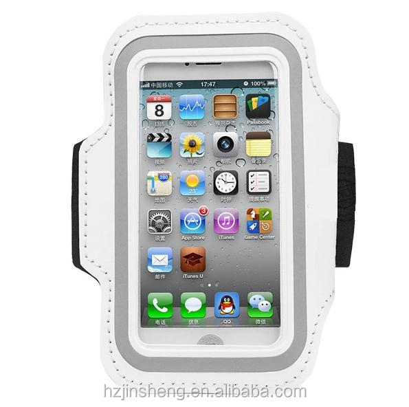 Waterproof wrist mobile cell phone holder case