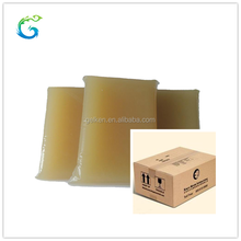 Hotmelt adhesive industrial animal glue for rigid carton box,cardboard box