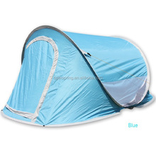 outdoor leisure Polyester fiberglass pole pop up tent wholesale