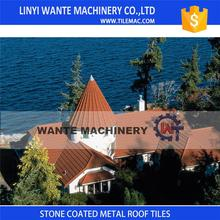 Save 10% Stone coated alu zinc steel roofing shingles With Discount