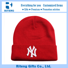Export embroidery gorras hip hop wool beanie hat