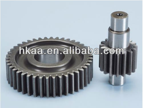 motorcycle special customized small precision steel secondary gear up kit manufacturer