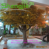 SJLJ0577 hot selling outdoor PE artificial trees / plants manufacturing ornaments