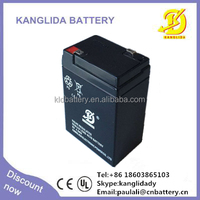 6v4ah sealed lead acid battery maintenance free, 6v storage vrla battery
