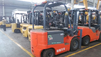 2 ton battery forklift, small powerful electric motors