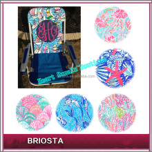 Alibaba Outdoor Furniture Folding Chair Monogram Lilly Beach Chair