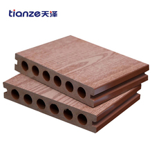 Cheap waterproof composite decking wpc material