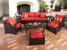 Outdoor furniture lounge wicker chair couch sex luxury sofa sets
