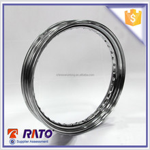 Popular design 2.5-17 chrome plated motorcycle rim