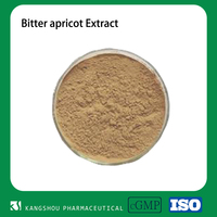 GMP factory Almond Extract / Amygdalin / Bitter Apricot seed extract