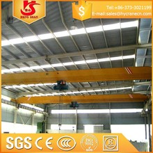 Indoor used overhead crane for lifting steel plate