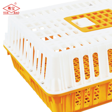 Turnover broiler plastic box live cage to transport automatic poultry farm equipment chicken feeder for sale