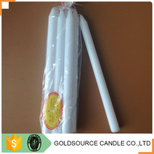 paraffin wax material white cemetery candle