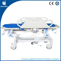 BT-TR002 China manufacturer CE ISO 2 functions manual hospital emergency patient transfer stair stretcher