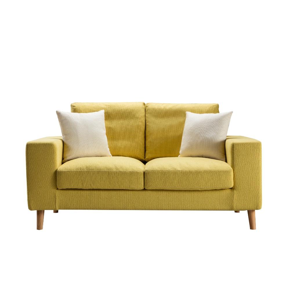 Muebles para el hogar sof nuevo dise o de corea divan sof de tela para livimg habitaci n sof s - Sofas para habitacion ...