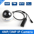 "1/3"" OV4689 Waterproof IP66 IR Range 10M HD IP 4MP Camera With POE"