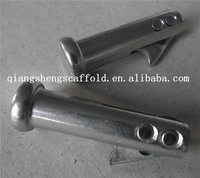 Steel frame scaffolding joint pin lock coupling pin