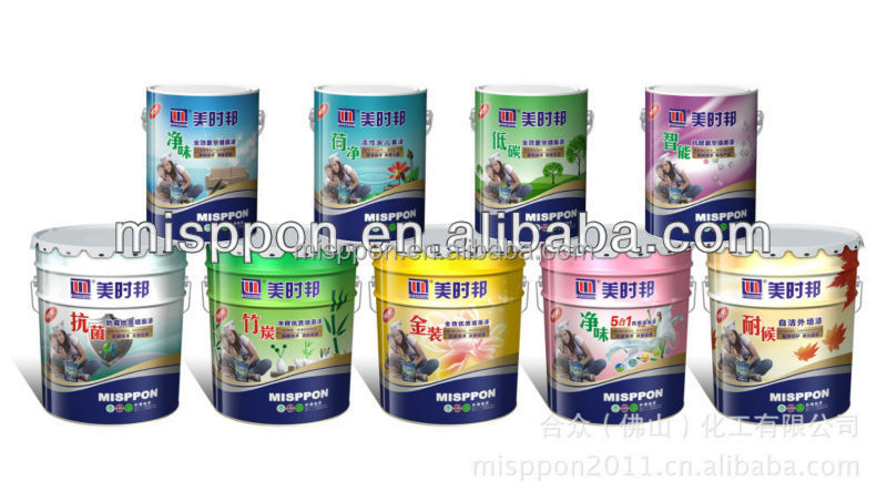 Misppon 2014 Standard Project Exterior Wall Building Coating