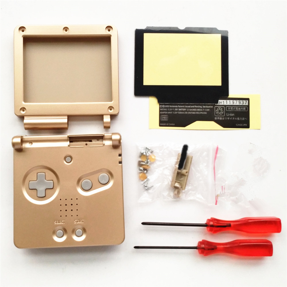 Classic Console Game System Case Full Shell housing Cover for Nintendo Gameboy Advance SP