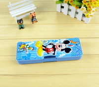 Ususual Cheap Cute And Novelty Pencil Box With Bubble Sticker