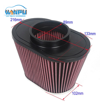 159mm height universal hot sale good quality Racing Car Air Filter auto spare partsair breather air filter car