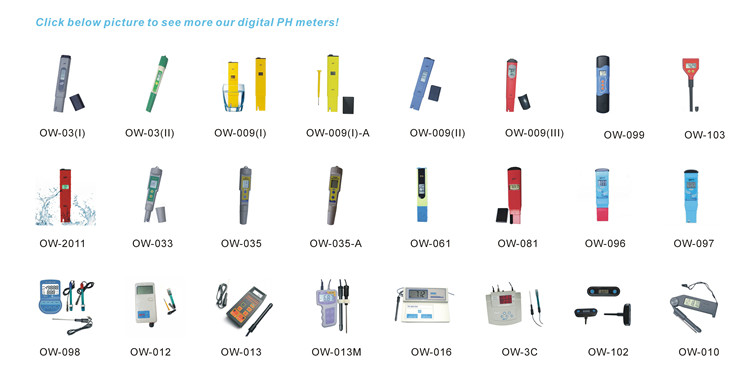 Precise Aquarium Digital Water Treatment PH Meter OW-961