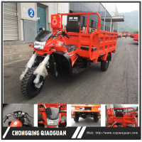 chongqing manufactured 300cc water /air cooled cargo motor three wheel motorcycle