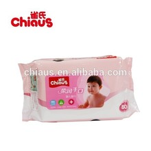 Chiaus super tender cotton baby wet wipes