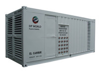 genset power pack for refrigerated container