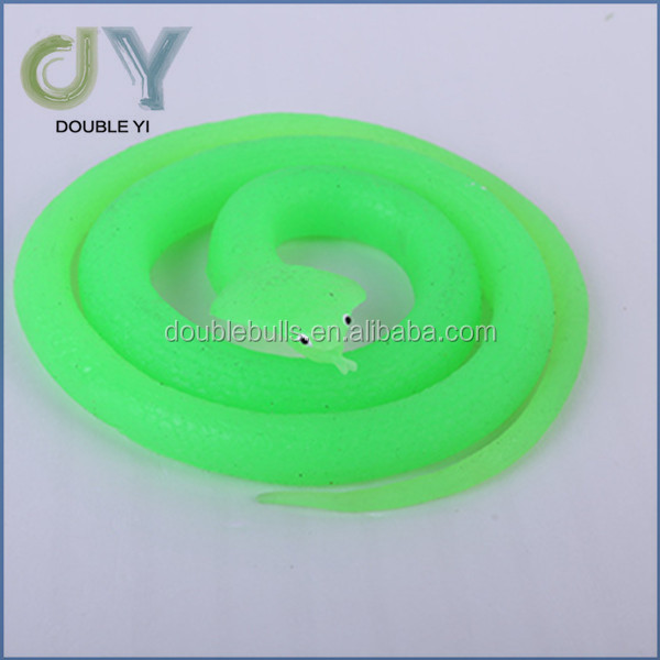 Hot sale funny TPR plastic snakes shape toys