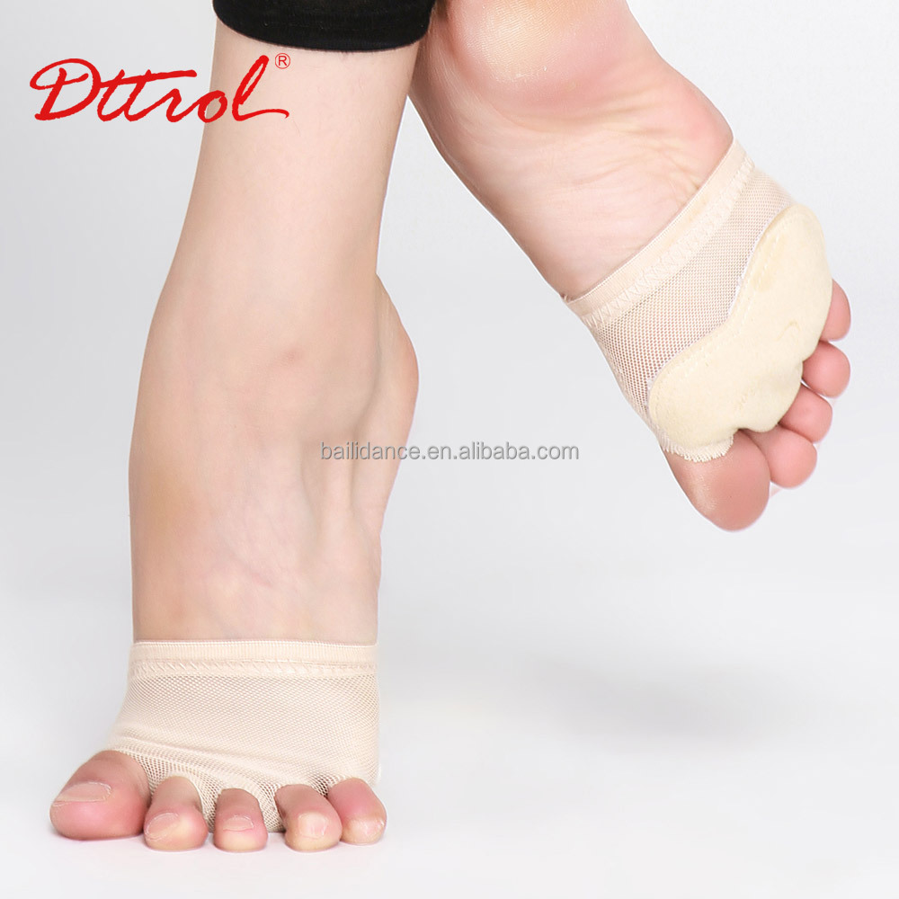D004917 Dttrol half sole modern dance footundeez barefoot shoes for latin dance