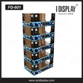 china supplier cardboard display shelf socks display shoe display stands