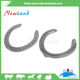 NL1309-5 hot sales good quality #7 aluminum metal steel horseshoes pair
