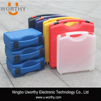 2016 colored plastic equipment storage case/plastic case with dividers/equipment protective case