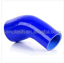 silicone turbo air intake 45 degree reducing automotive elbow hose