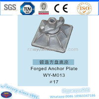 square plate wing nut construction formwork materials