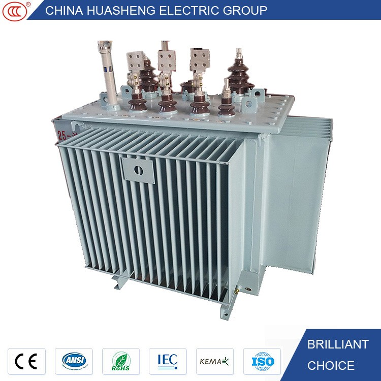IEC approved oil type 3 phase dyn11 transformer mva kva all power and voltage ratings
