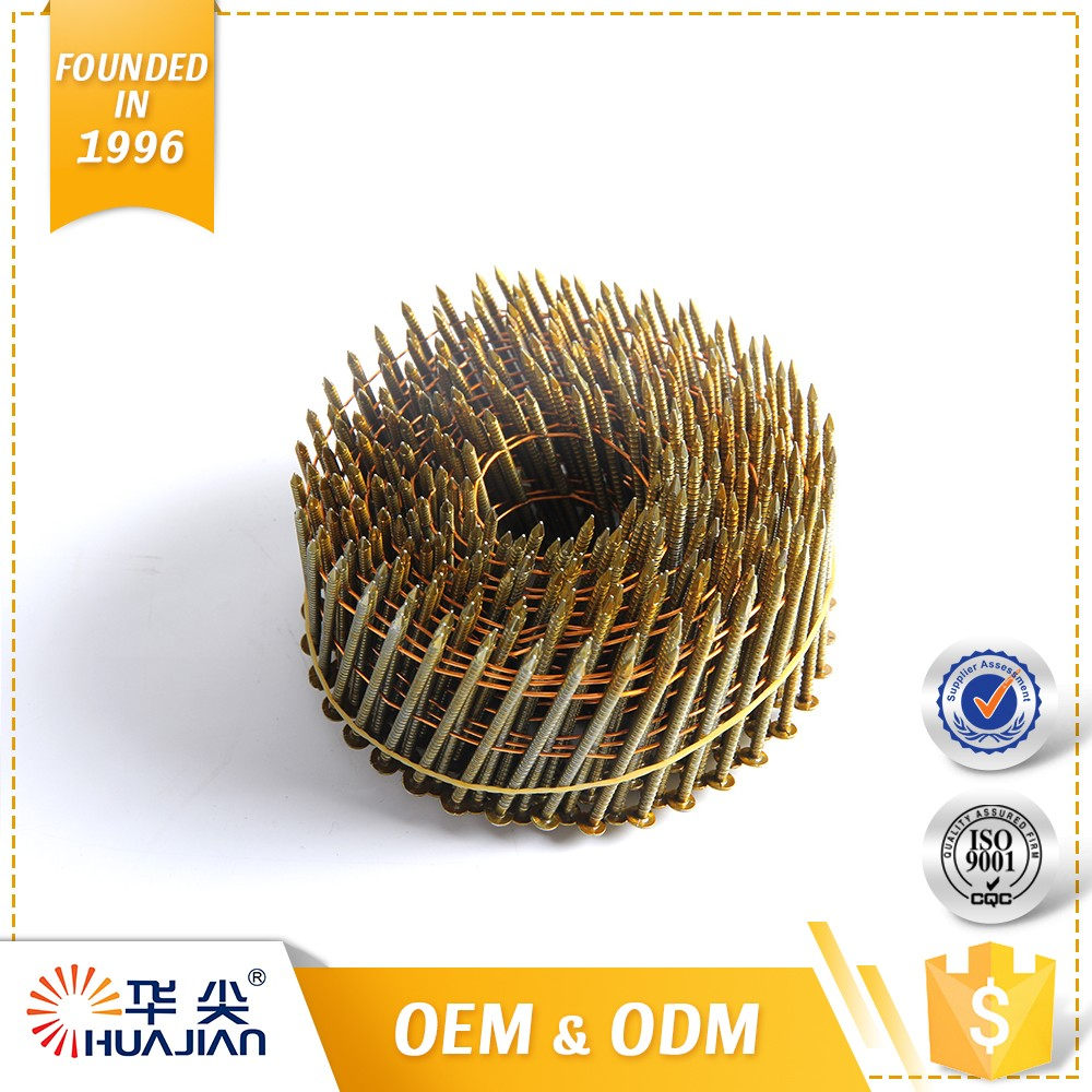 Hot Selling Flat Head Roofing Nails Big Coil Nails/Pallet Nails/Factory