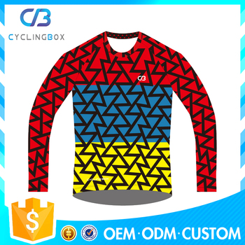 2017 latest season Bicycle BMX MTB Downhill jersey For MTB Cycling
