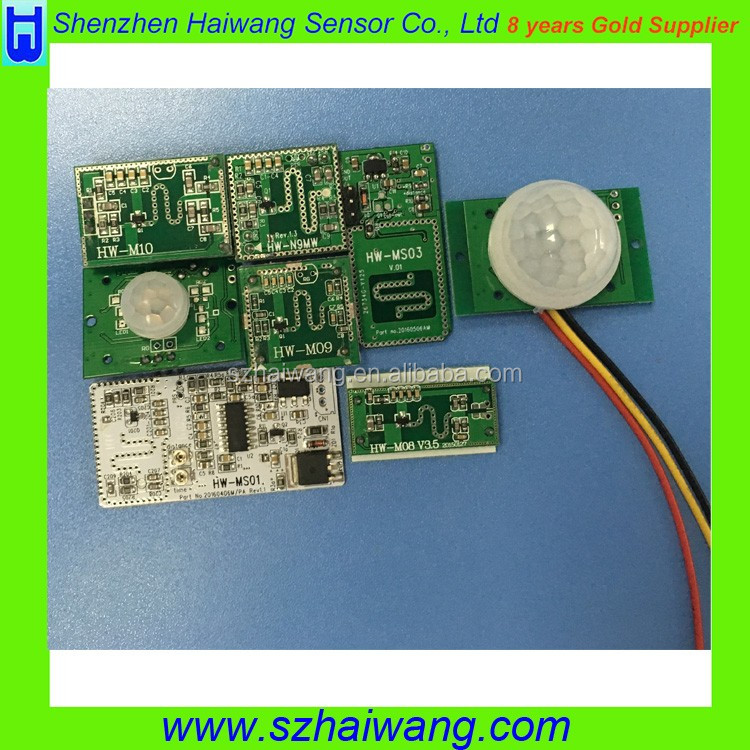 Customized Microwave Motion Sensor Module for Light Sensor